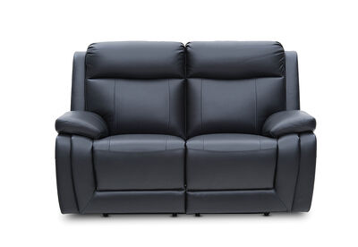SAN MARCO - Leather 2 Seater Sofa with Electric Recliners