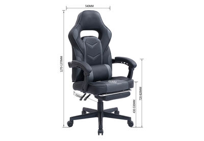 VIRTON - Black/Dark Grey Gaming Chair