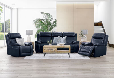 SAN MARCO - Leather Recliner Suite