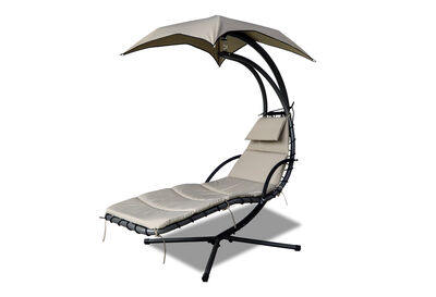 ABEILLE - Graphite Outdoor Hammock Lounge