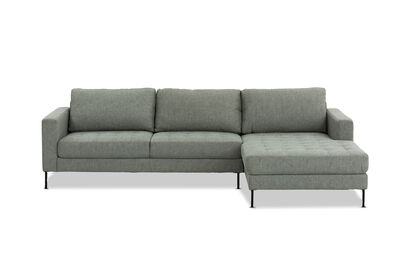 BRODY - Fabric 3 Seater Chaise