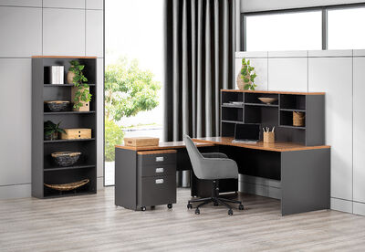 EAGLEFIELD - 5 Piece Office Package