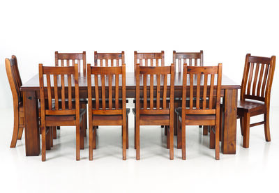 SETTLER - 11 Piece Dining Suite
