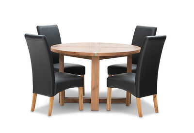 SILVERWOOD MK2 - 5 Piece Dining Suite
