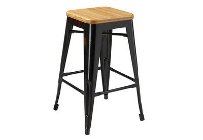 ROCKET - 66cm Stool with Bamboo Seat