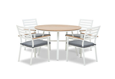 TANGALOOMA - 5 Piece Outdoor Dining Setting